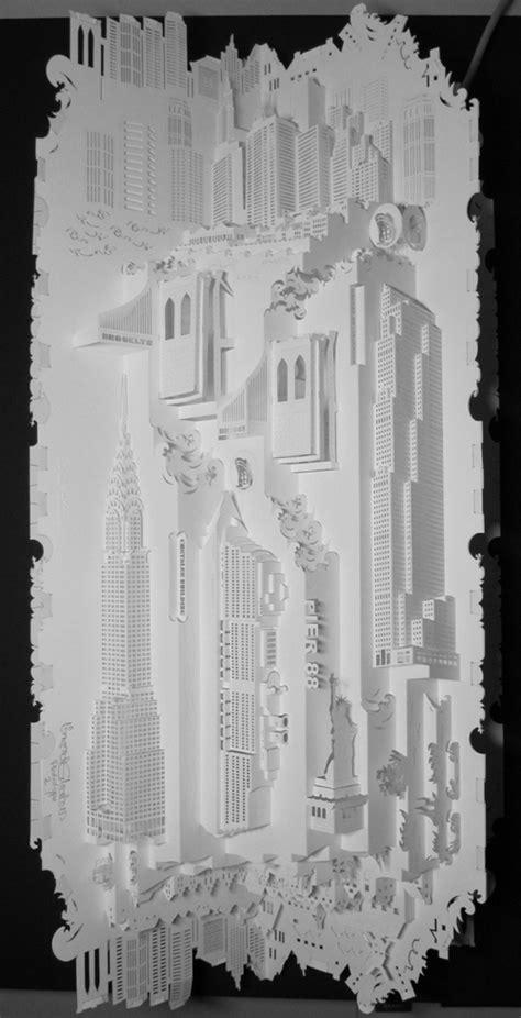 ingrid siliakus templates architecture paper sculptures