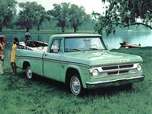1970 Dodge D100 1970 Dodge D100 Sweptline Adventurer Pkg