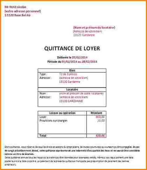 Exemple Lettre De Quittance Emploi Ecrire Demande De Travail