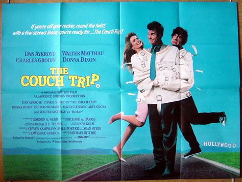 couch trip movie couch trip the original cinema movie poster from