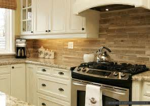 Kitchen Travertine Backsplash by Travertine Subway Backsplash Brown Countertop Backsplash