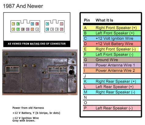 toyota corolla  radio wiring diagram wiring diagram