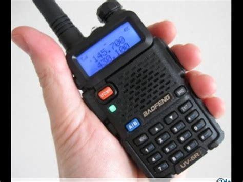 le 5r activer la bande cach 233 e 220 mhz sur le baofeng uv 5r