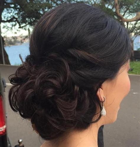 pageant buns 40 most delightful prom updos for long hair in 2017