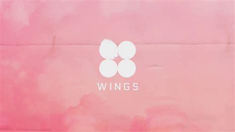 Computer Wings wings pink desktop background 방탄소년단