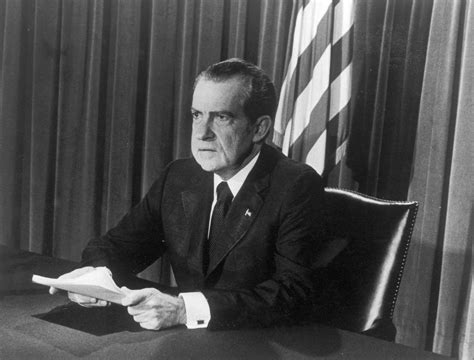 Who Is The Only President To Resign From Office by Richard Nixon Announced His Resignation From The