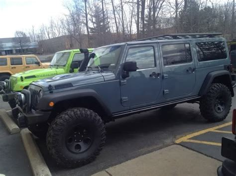 jeep blue grey anvil color jeep wrangler forum jeep pinterest