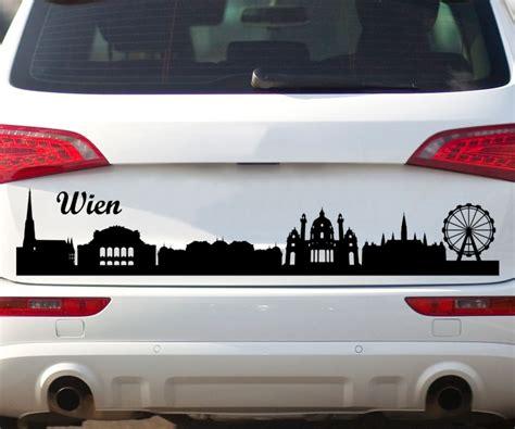 Autoaufkleber Wien by Autoaufkleber Wien City Skyline Car Sticker Auto Tuning