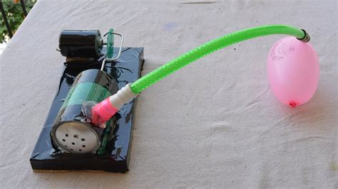 how to make air compressor at home easy way a cool project hack idea