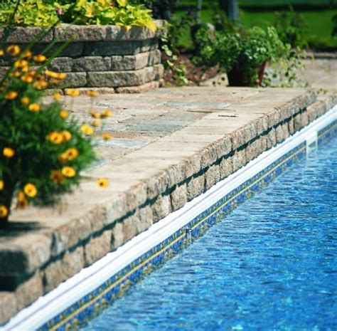 stone pool deck 25 ideas of stone pool deck design