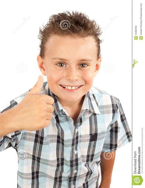 thumbs up my brown boy books kid thumbs up sign stock photo image 10482330