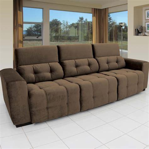 sofas 4 you sof 225 4 lugares linoforte duomo tecido em suede com assento