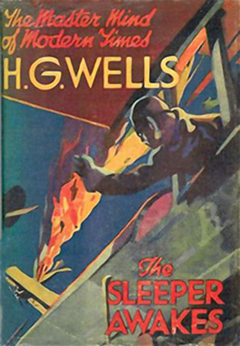 the sleeper awakes vintage pop fictions the sleeper awakes by h g wells