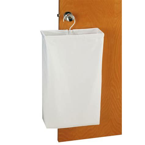 canvas laundry doorknob laundry bag white canvas