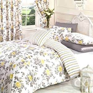 Grey And Yellow Bedding Sets Uk Vintage Floral Duvet Cover Poly Cotton Print Bedding Bed