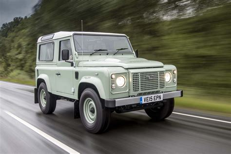 land rover land new land rover defender is quot not far away quot says design