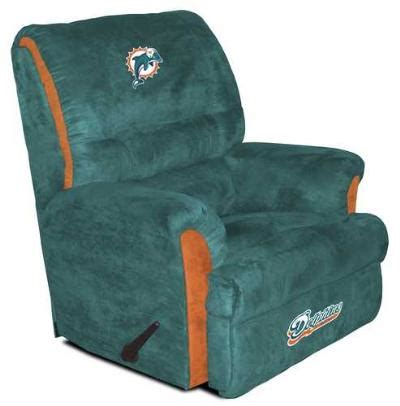 miami dolphins recliner big daddy miami dolphins recliner us 766 52web direct
