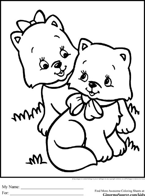 coloring pages of animals that you can print coloring pages to print kittens coloring pages