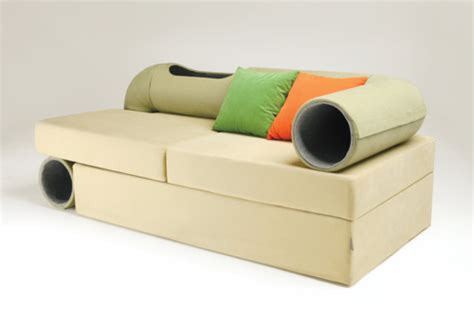 cat tunnel sofa for sale we might need this cat tunnel sofa in our lives catster