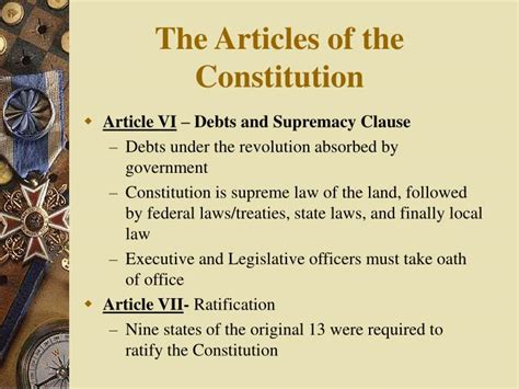Outline Of The 7 Articles Of The Constitution by The Articles Of Constitution Pictures To Pin On Pinsdaddy