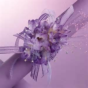 purple corsage prom wrist corsages purple wrist corsage