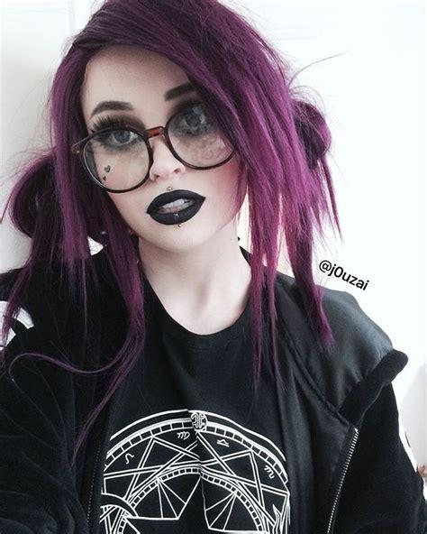 girl hairstyles goth 25 best ideas about goth hairstyles on pinterest grunge