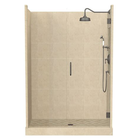 Fiberglass Shower Wall Kits by Shop American Bath Factory Panel Medium Fiberglass And