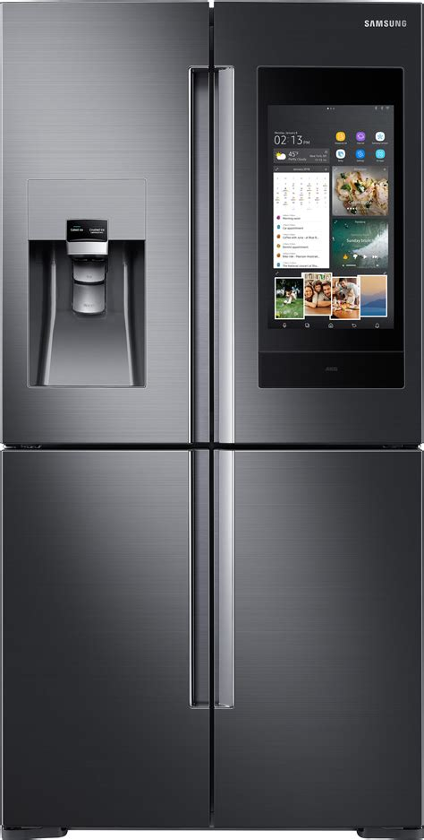 samsung electronics debuts next generation of family hub refrigerator at ces 2018 samsung us
