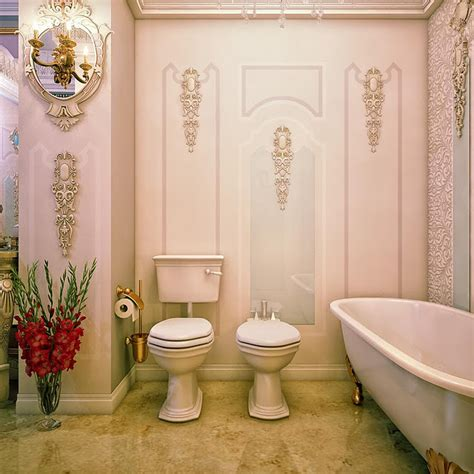 baroque bathroom accessories jaw droppingly gorgeous bathrooms that combine vintage