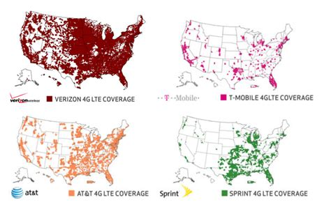 cell phone coverage map which carrier offers the fastest mobile data and coverage