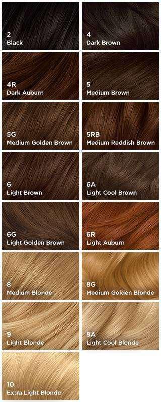 Natural Instincts Hair Color Shades | shades