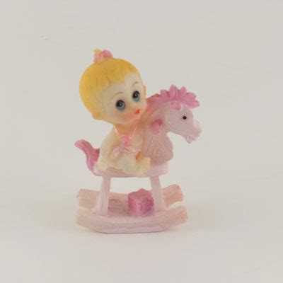 Baby Shower Figurines Wholesale by Ifavor123 Baby Pony Rider Figurine Statue 12pcs
