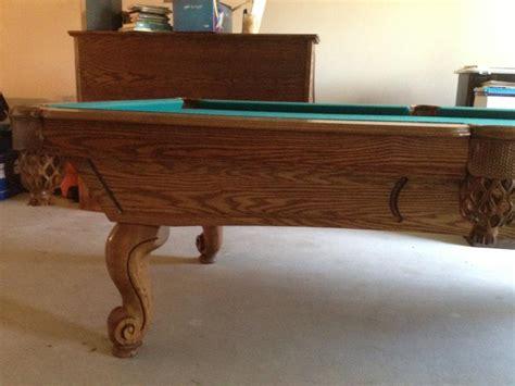 proline billiard table 8 proline sorrel pool table for sale