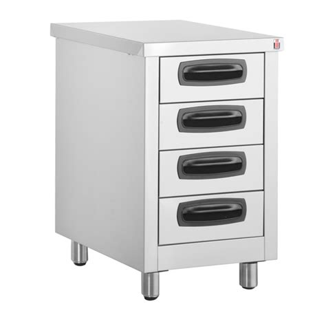 inomak stainless steel drawer units kitchen drawers