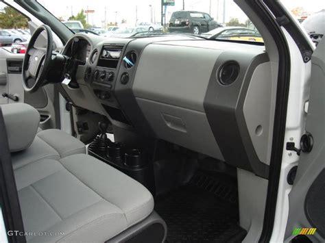 medium flint interior 2008 ford f150 xl regular cab