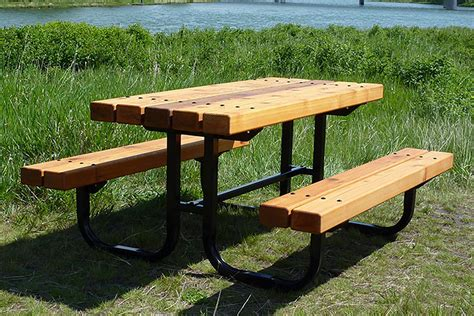 custom picnic tables series b picnic tables custom park leisure