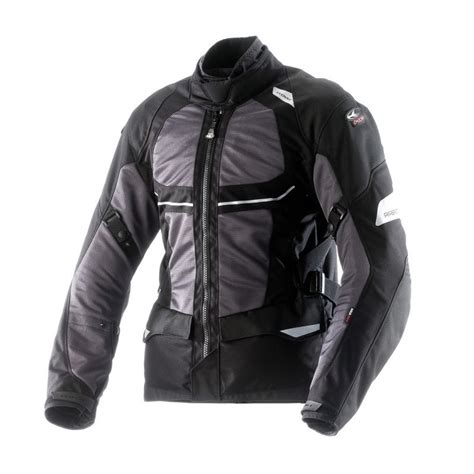 waterproof waterproff airbag chaqueta cloverventouring waterproof airbag negro