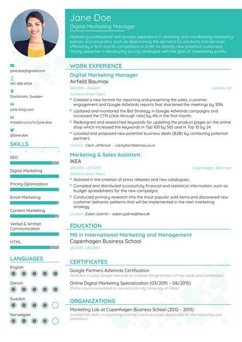 new resume format 12 sample and maker techtrontechnologies com
