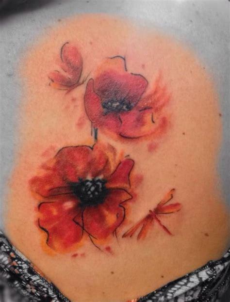 watercolor poppy tattoo 25 best ideas about watercolor poppy on