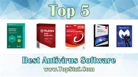 antivirus the best top 5 best antivirus software protect your data now