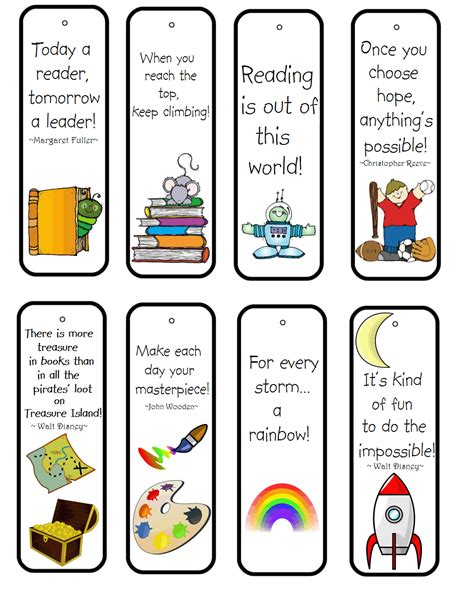 free printable encouraging bookmarks a child s place february 2012
