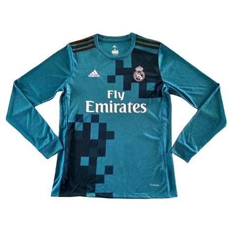 Jersey Real Madrid Home 1516 Sleeve us 16 8 real madrid third jersey sleeve 2017 18 www soccerworldfc net