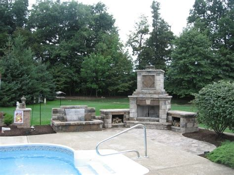 Unilock Locations Paver Patios Outdoor Fireplaces Hilliard Ohio Firepits