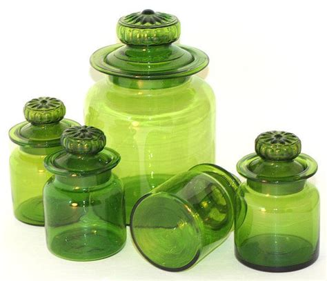 green kitchen canisters sets 1000 images about canister sets on pinterest vintage