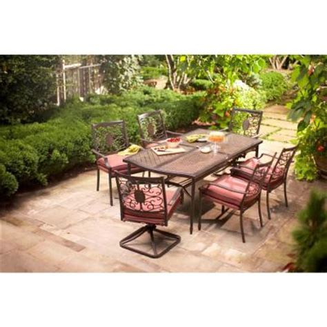 Martha Stewart Living Palamos 7 Piece Patio Dining Set Martha Stewart 7 Patio Dining Set