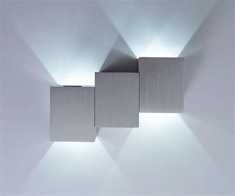 len wandleuchten led wandleuchte miray silber 2 watt aluminium geb 252 rstet