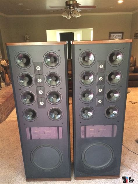 10 woofer three way floor standing speakers boston acoustics a 360 dual inch woofer three way floor
