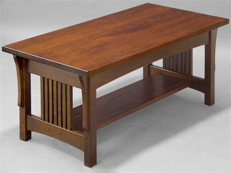 Coffee Table Mission Style Mission Style Coffee Table