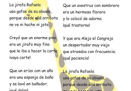 poema para jirafa las gafas de la jirafa poemas pinterest poes 237 a