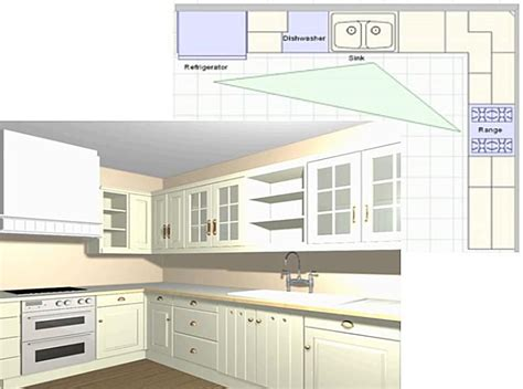 l kitchen layout 5 best kitchen layout styles